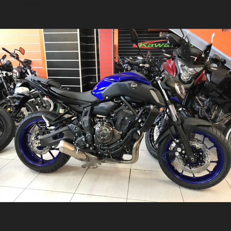 yamaha mt07 abs 2019 motos barrag n. Black Bedroom Furniture Sets. Home Design Ideas